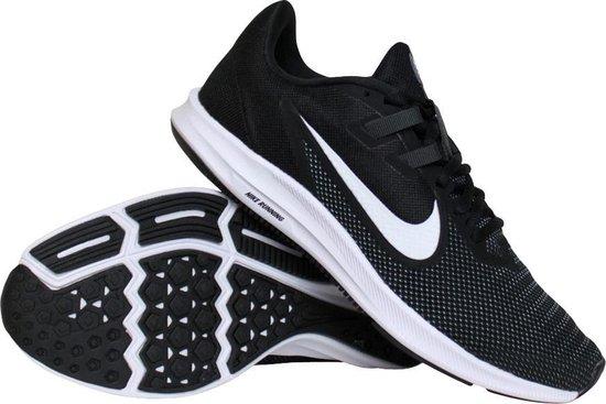 bol.com | Nike Downshifter 9 hardloopschoenen dames zwart/wit