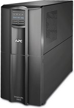 APC Smart-UPS SMT3000IC Noodstroomvoeding - 8x C13, 1x C19, USB, SmartConnect, 3000VA