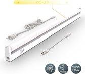 B.K.Licht - Keukenverlichting - LED onderbouw - kastverlichting - keuken lamp  - wit - kleurtemperatuur instelbaar