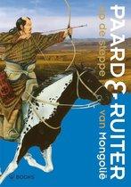 Paard & ruiter op de steppe van Mongolië