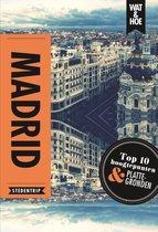 Boek cover Madrid van Wat & Hoe Stedentrip