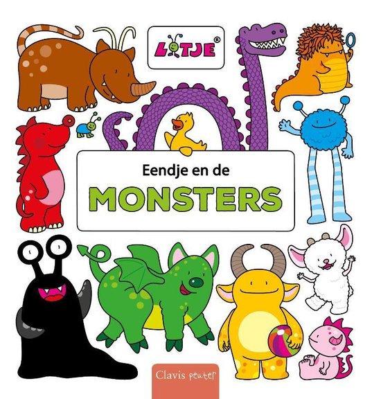 Eendje en de monsters - Lizelot Versteeg  