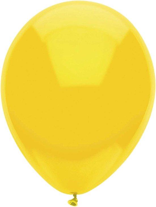 Haza Original Ballonnen Geel 10 Stuks