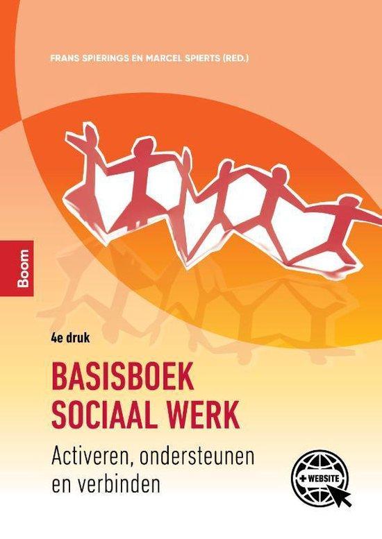 Boek cover Basisboek sociaal werk van Marcel Spierts (Paperback)
