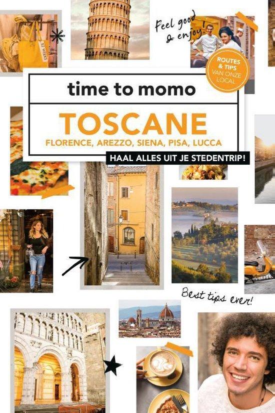 Boek cover Time to momo  -   Toscane van Kim Lansink (Paperback)