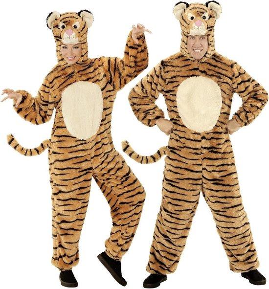 Leeuw & Tijger & Luipaard & Panter Kostuum | Dieren Onesie Pluche Tijger Kostuum | Medium / Large | Carnaval kostuum | Verkleedkleding