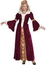 Koning Prins & Adel Kostuum | Middeleeuwse Koningin Candarella | Vrouw | Large | Carnaval kostuum | Verkleedkleding