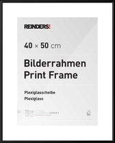 Reinders Poster Wissellijst  zwart voor posters 40x50