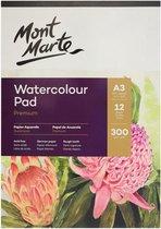 Mont Marte® A3 waterverf papier 300 grams  - 12 vellen