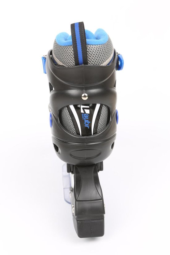 Laubr skeelers/skates Blue - Maat 31-34 - Blauw/Zwart - Abec 5 - LAUBR