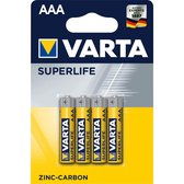 Varta AAA Superlife Batterijen