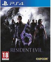 Resident Evil 6 PS4-game