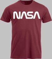 T-shirt M NASA - Rood - M - XXL Sportshirt