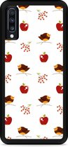 Galaxy A70 Hardcase hoesje Apples and Birds