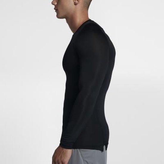 Nike Pro Cool Compressie LS heren thermoshirt zwart