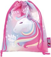 Zaska Gymtas Bts Unicorn 26,5 X 21,5 Cm Polyester Roze