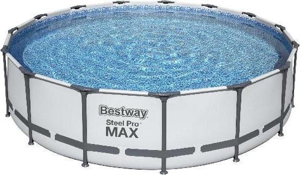 Bestway Zwembad steel pro max set 457 cm