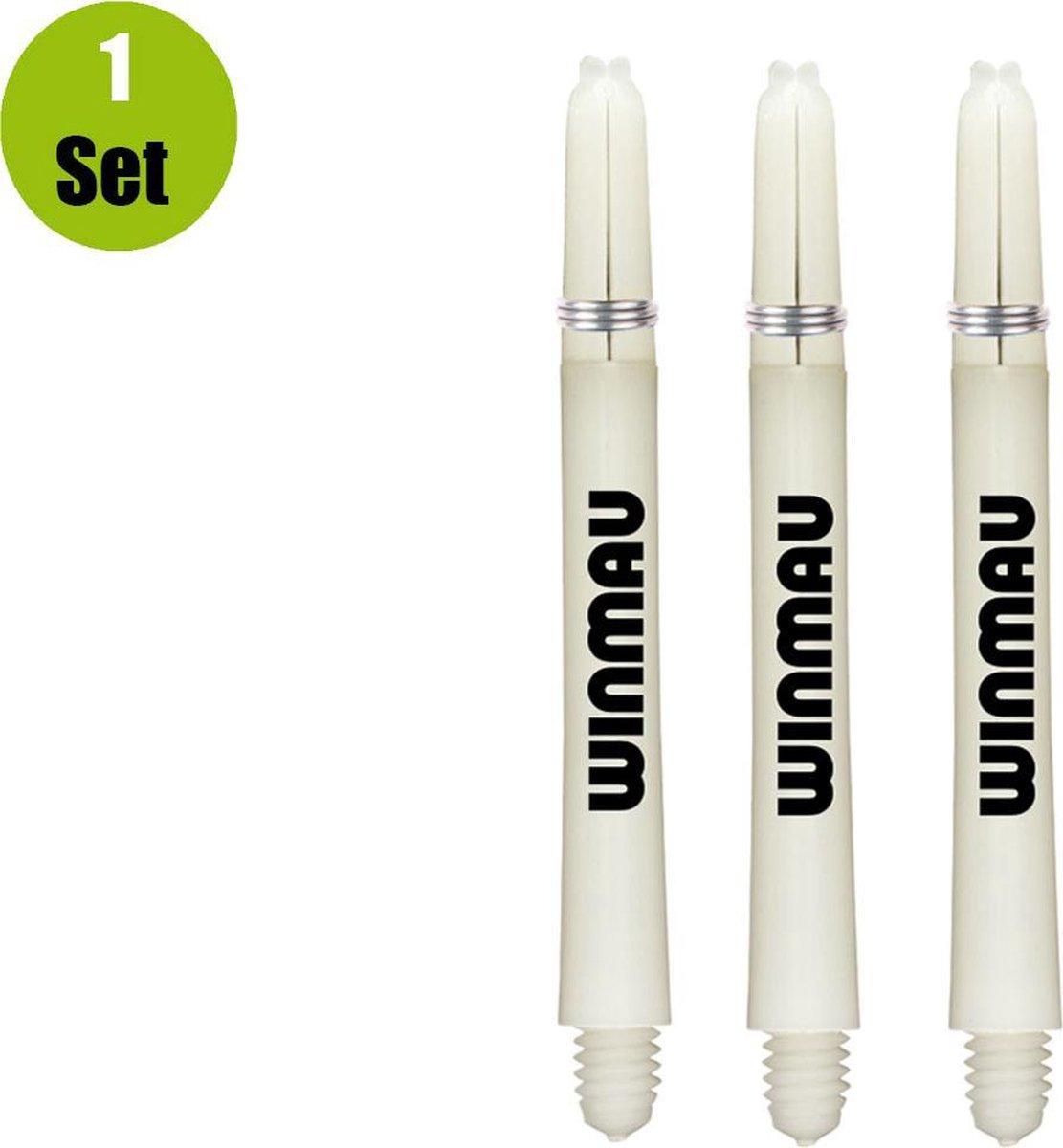 Winmau Dart Shafts Nylon Signature - Wit - Short - (1 Set)