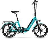 Bol.com-CycleDenis Plisman 20 Disc vouw e-bike 7sp turquiose-aanbieding