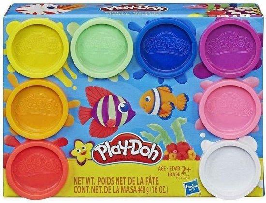 Afbeelding van Play-Doh Regenboog Klei - 8 Potjes speelgoed