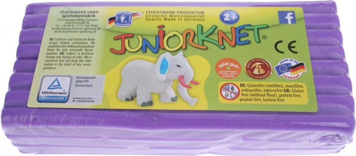 Juniorknet Klei Jumbo Pack 500 gram Paars