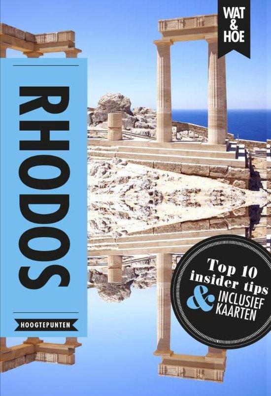 Boek cover Wat & Hoe Reisgids  -   Rhodos van Wat & Hoe Hoogtepunten