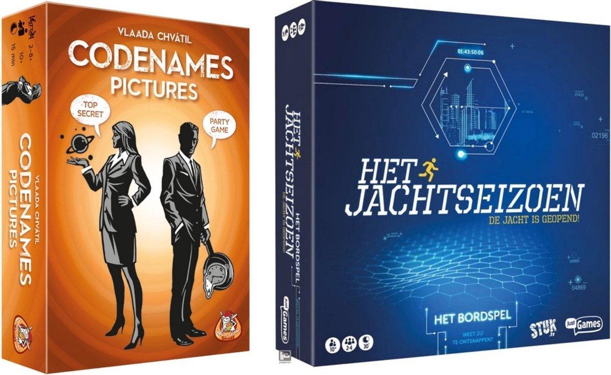 Spellenbundel - Bordspel - 2 Stuks - Codenames Pictures & Jachtseizoen