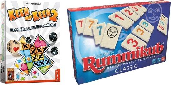 Afbeelding van het spel Spellenset - 2 stuks - Keer op Keer 2 & Rummikub