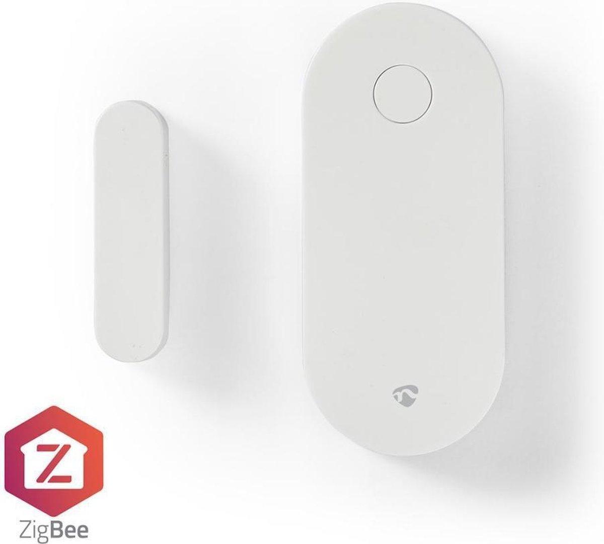 Nedis Slimme Deur- of Raamsensor   Zigbee   Batterij Meegeleverd ZBSD10WT