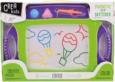 Kids Art Magnetisch Kleuren Tekenbord 45X30 Cm