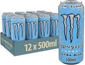 Monster Energy Ultra 12x 500ml Blue