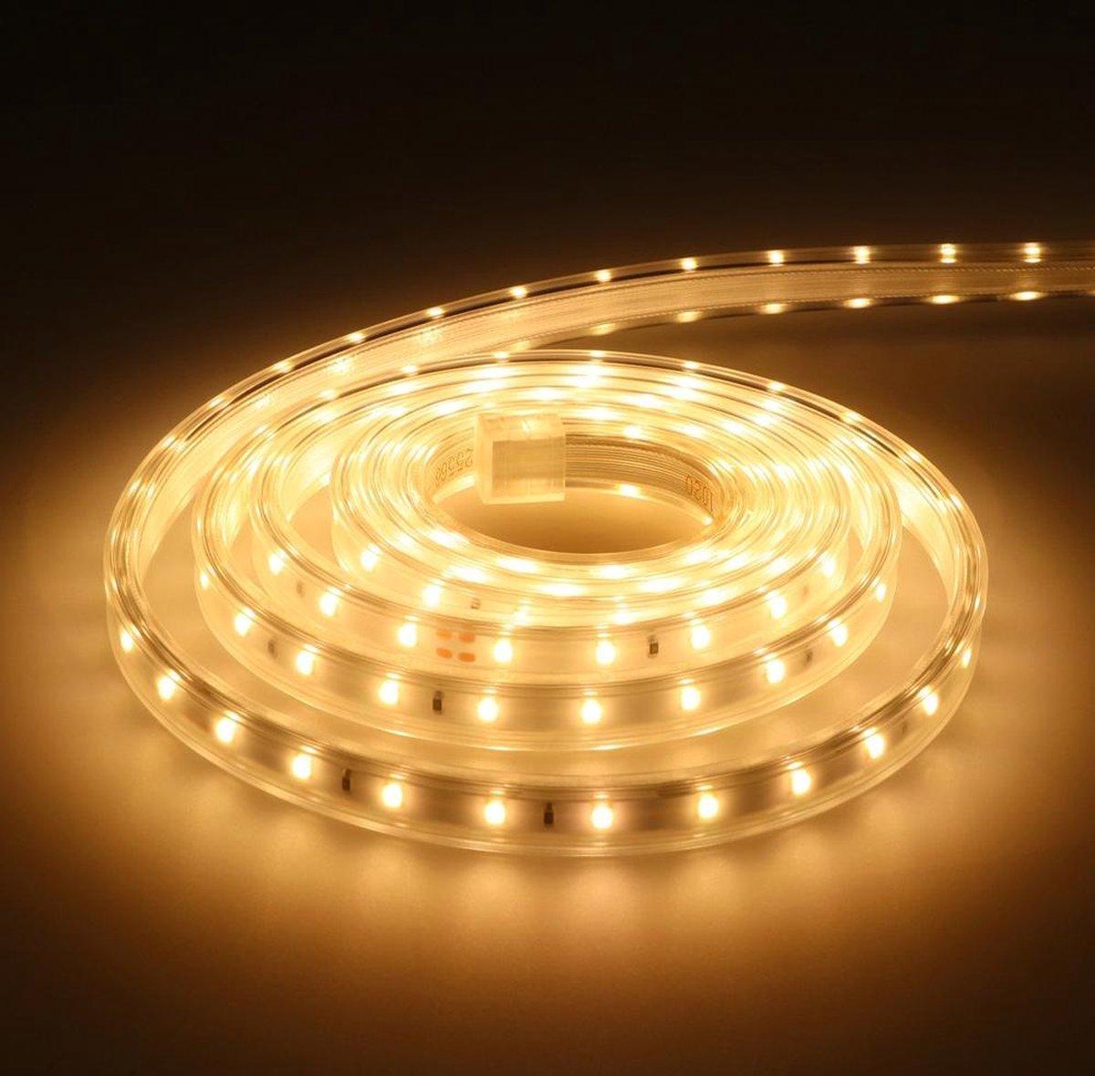 Dimbare LED Strip 2m 3000K 60 LEDs/m IP65 Plug & Play - Flex60 Series