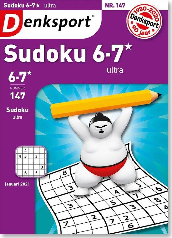 Afbeelding van Denksport Puzzelboek, Sudoku 6-7* ultra, editie 147