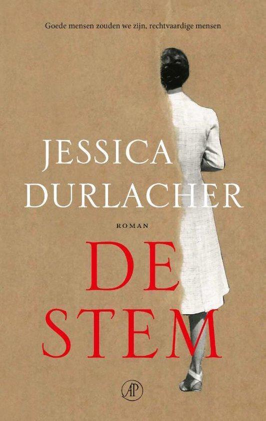 Boek cover De Stem van Jessica Durlacher (Hardcover)