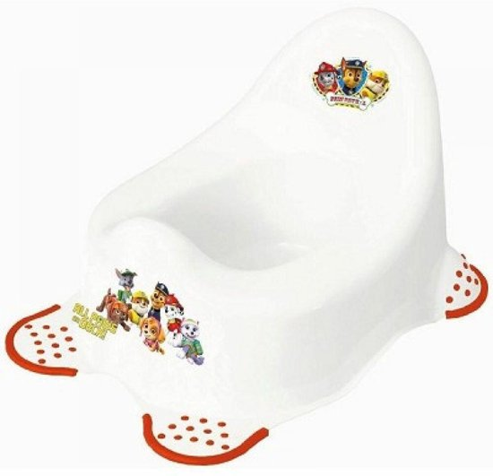 Product: Keeeper Paw Patrol Baby potje - Wit, van het merk Keeeper
