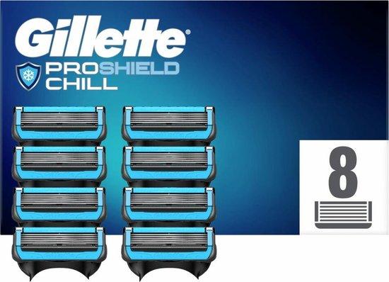 Gillette ProShield Chill Scheermesjes Voor Mannen - 8 Navulmesjes