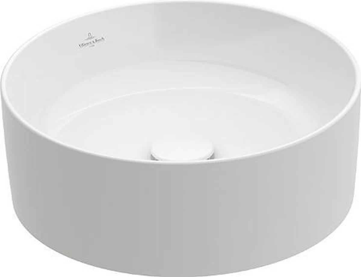 Villeroy & Boch Collaro opzetwastafel rond ø 40cm, wit