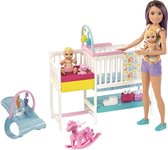 Barbie Babysitter Skipper Kinderspeelkamer Speelset - Barbiepop
