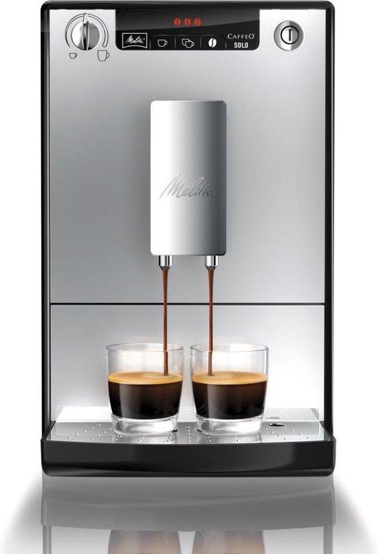 Melitta Caffeo Solo Espressomachine 1.2L 1400W Zilver