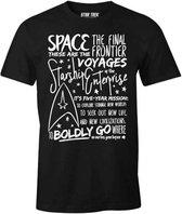 STAR TREK - T-Shirt The Final Frontier (M)