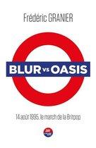 Omslag Blur vs. Oasis