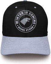 Game of Thrones - Stark Logo Black Baseball Cap