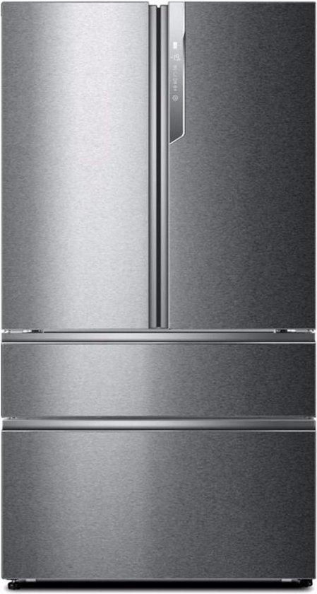 Koelkast: Haier HB26FSSAAA amerikaanse koelkast Vrijstaand Roestvrijstaal 685 l A++, van het merk Haier