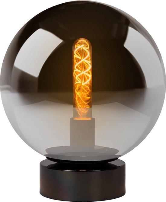 Lucide JORIT - Tafellamp - Ø 25 cm - 1xE27 - Fumé