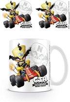 Crash Bandicoot Crash Team Racing Neo Cortex Emblem Mok