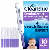 Clearblue Digitale Ovulatietestset (OVS) 10 testen