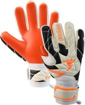 Precision Keepershandschoenen Fusion_x.3d Pro Wit/oranje/zwart Mt 8