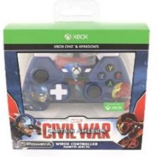 Captain America: Wired Civil War Controller - Xbox One/PC