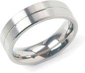 Boccia Titanium 0101-22 Ring - Titanium - Zilverkleurig