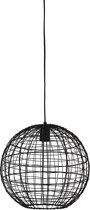 Light & Living Mirana Hanglamp - Zwart - Ø35x33 cm